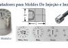 Datadores e Insertos para moldes de injeção